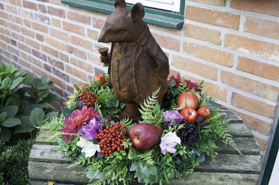 Ringhotel Friederikenhof: fleurs en plastique