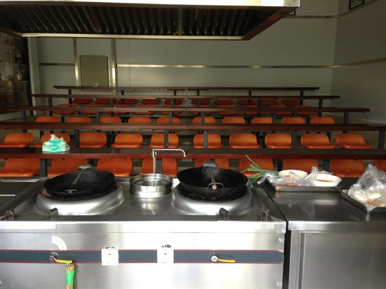 Cooking School In China: Professional classroom