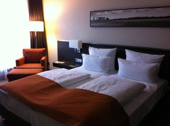 Atlantic Hotel Lübeck: Bed