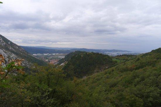 Val Rosandra Reserve : Виды Триеста
