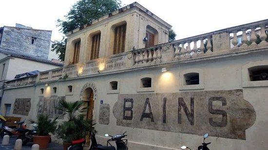Les Bains de Montpellier: Façade du restaurant