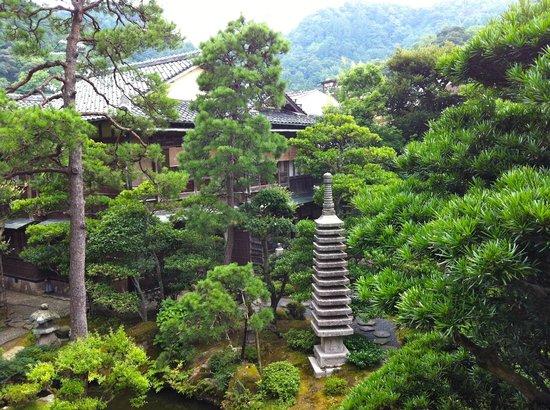 Kinosaki Onsen Nishimuraya Honkan: Jardin