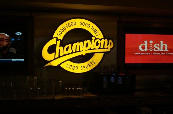Champions Sports Bar: Champions