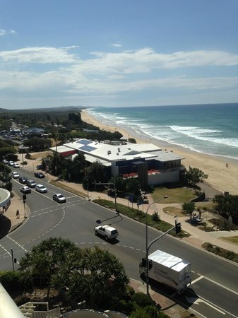 Coolum Caprice Luxury Holiday Apartments: A view from Apartment 45