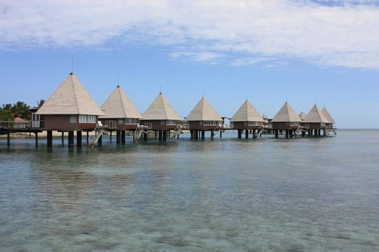 L'Escapade Island Resort: Over Water Bungalows