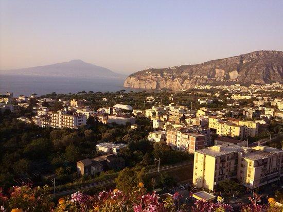 Cristina Hotel : Veduta dalla terrazza1