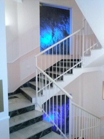 Cristina Hotel: Interno...prima blu