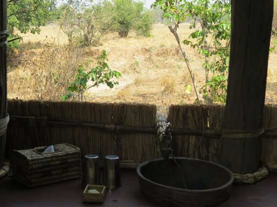 Chikoko Trails Camps: View from the bathroom