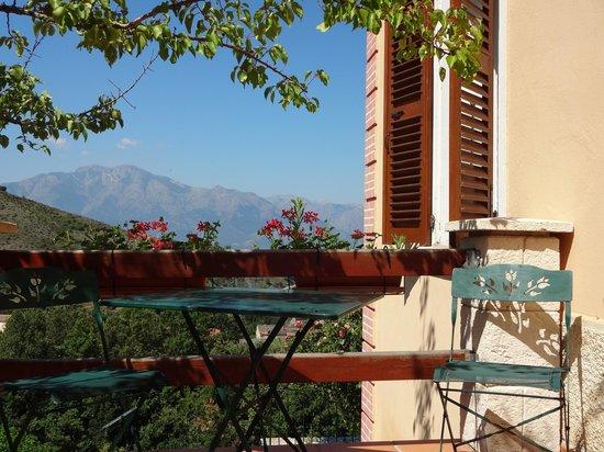 View from Casa Capellini, Sant'Andrea-di-Bozio, Corsica, France