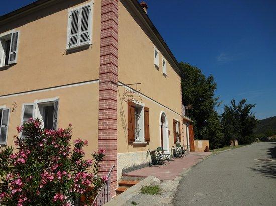 Front view of Casa Capellini, Sant'Andrea-di-Bozio, Corsica, France