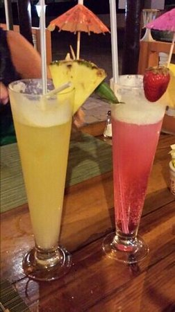 pôr do sol : Cocktails are amazing!