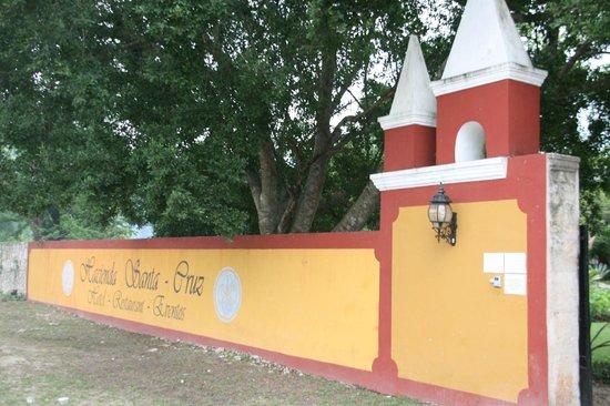 Hacienda Santa Cruz: Entrée