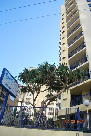 Surf Regency Apartments: Surf Regency apartment external view