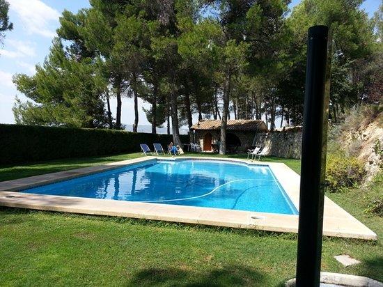 Casa Rural La Alqueria del Pilar: piscina