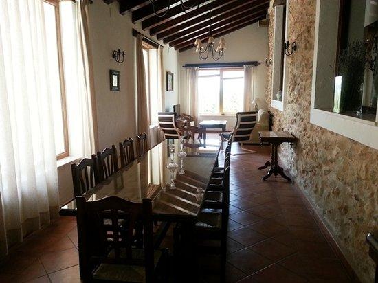 Casa Rural La Alqueria del Pilar: Salón