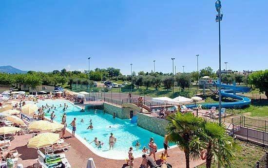 Camping Park delle Rose: Poolområde
