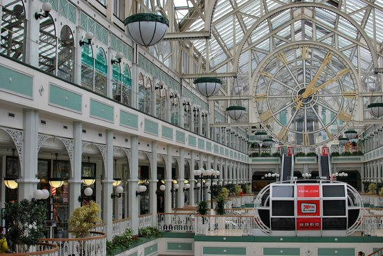 St. Stephen's Green Shopping Centre: Interno