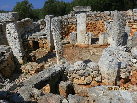 Torre d'en Galmes: TORRE GALMES - Detalle Interiores
