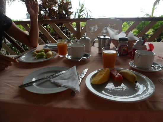 Rosemary's Guesthouse : petit dejeuner