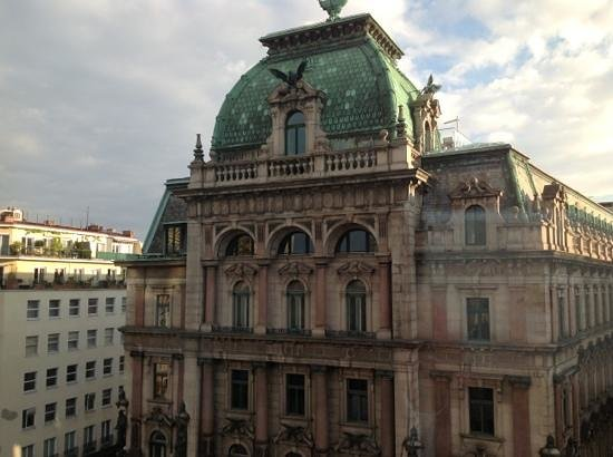 DO & CO Hotel Vienna: view from room 607