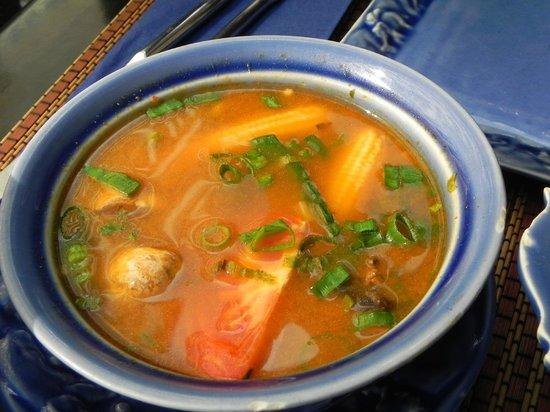 Fanny Thai : sweet&sour chicken soup