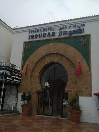 Igoudar Aparthotel: voorkant igoudar
