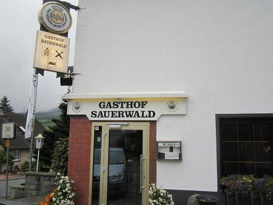 Gasthof Sauerwald: Eingangsbereich
