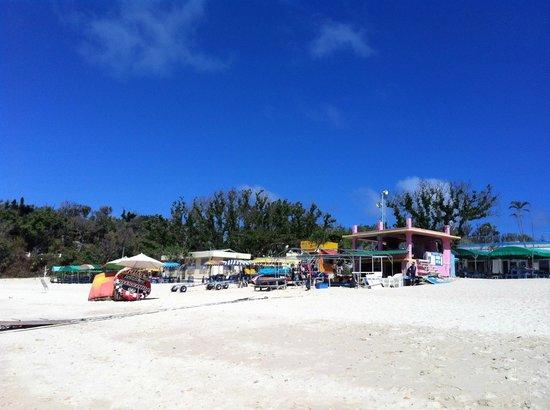 Ikei Beach: Puesto Reageton