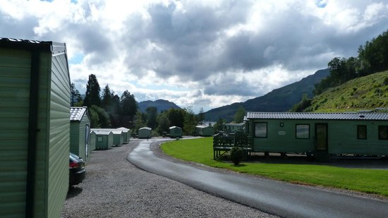 Drimsynie Estate Holiday Village: View from holiday park
