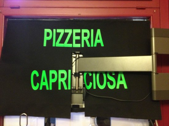 Pizzeria Capricciosa: capriciosa