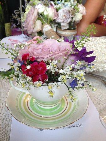 Ross Priory, University of Strathclyde: Wedding dinner