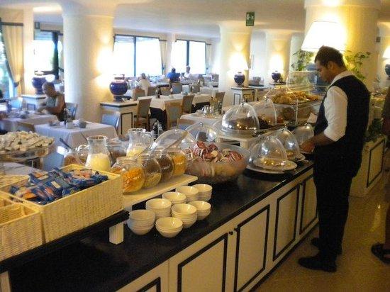 Hotel del Levante: Ca. ein Drittel des Frühstück-Buffets