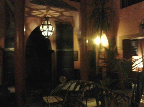Riad Basma : Desde el patio interior