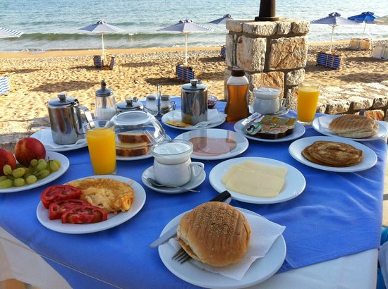 Galini Beach Hotel: breakfast