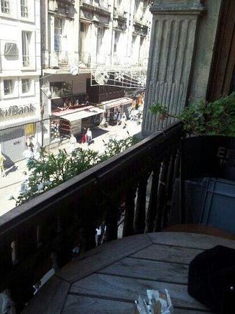 Neoclassic: balkonblick