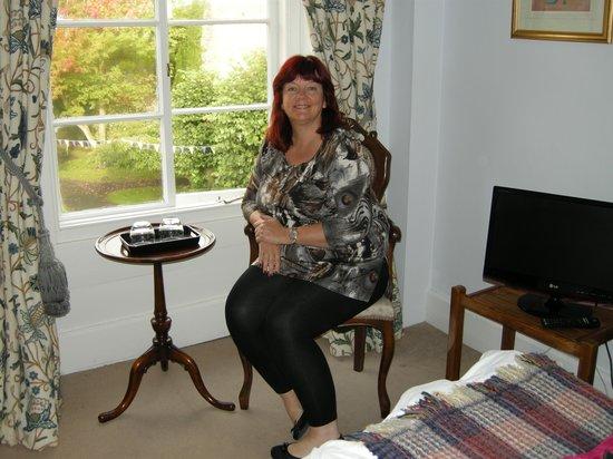 Dinham Hall Hotel: Our room - Clive