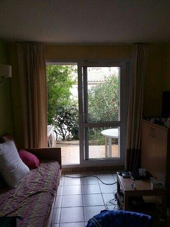 Residence Le Village des Aloes: appartement Antigua séjour