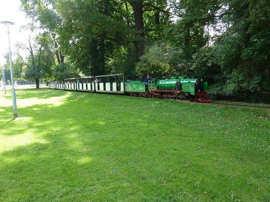 Palais Großer Garten: Parkeisenbahn