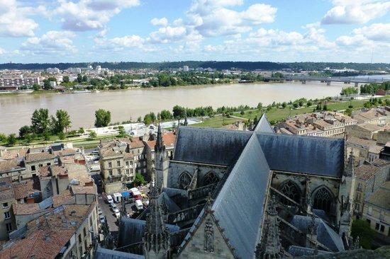 La Flèche Saint-Michel : view from the top