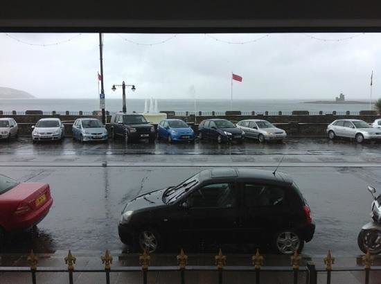 Gloucester House: seafront view from lounge