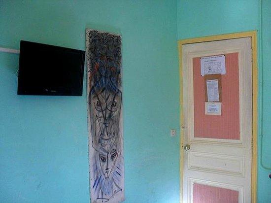 Atlantis Hotel: Vieille décoration.
