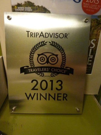 Briarcliff Motel : Well deserved!