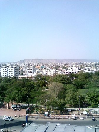 Ramada Jaipur: View from Hotel Terrace