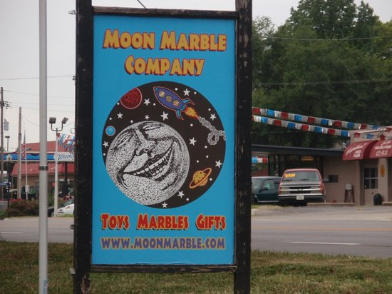 Moon Marble Company: Sign