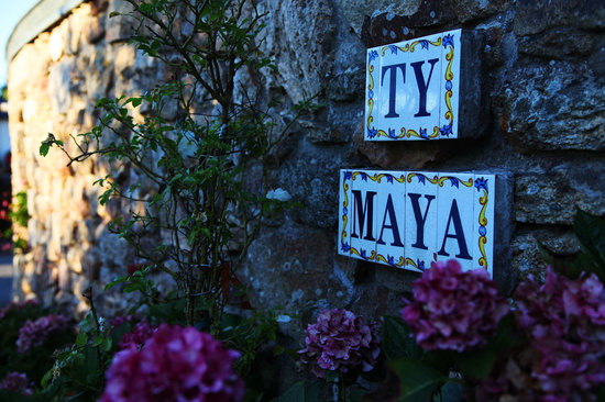 Ty Maya : Eingang