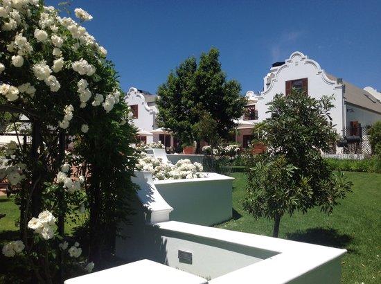 Franschhoek Manor : Manor from the Garden