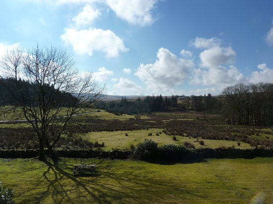Prince Hall Country House: view from bedroom
