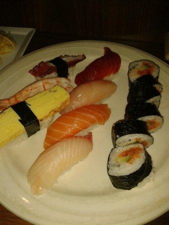 Sansei Seafood Restaurant: sushi