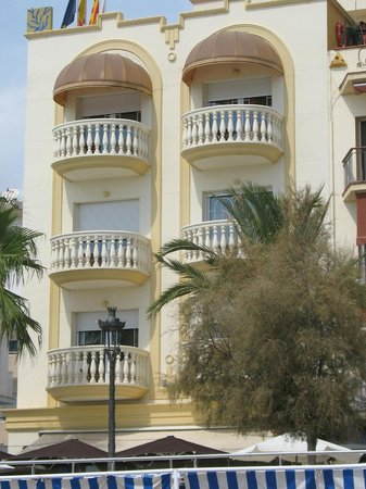 Urh Sitges Playa Hotel: vista dell'hotel