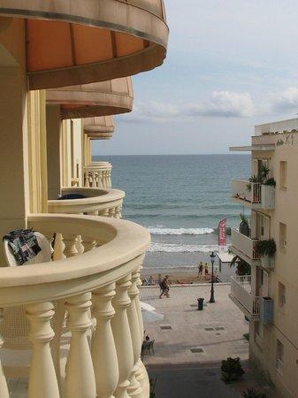 Urh Sitges Playa Hotel: vista dal balcone